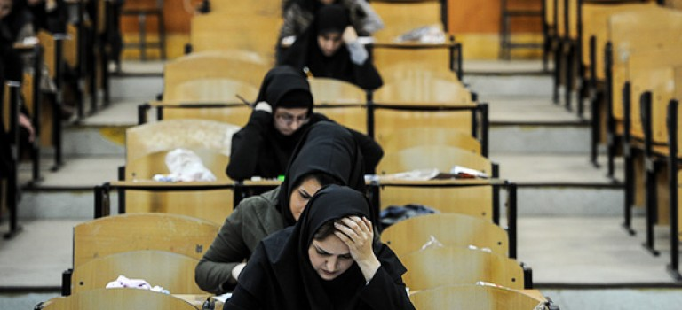 ممنوعیت استفاده از وسایل الکترونیکی در جلسه آزمون ارشد آزاد ۹۴