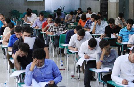 دریافت کارنامه آزمون کارشناسی ارشد ۱۳۹۶ توسط ۸۸ درصد داوطلبان
