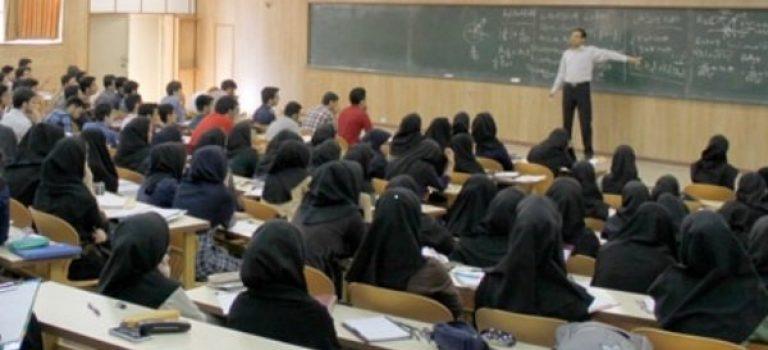 افزایش پذیرش دانشجوی کارشناسی ارشد در دانشگاه های غیردولتی در سال های اخیر